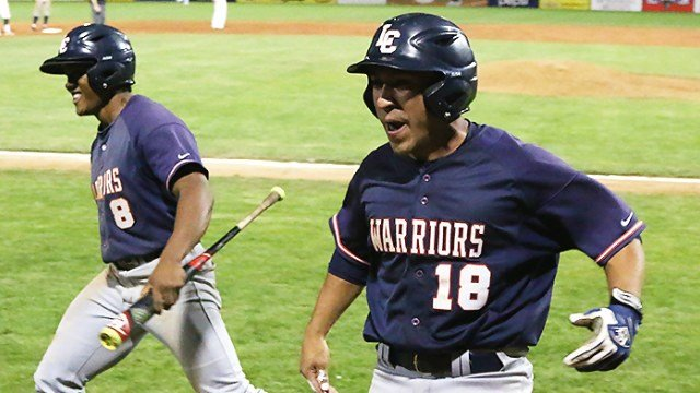 Julian Ramon's go-ahead RBI helped LCSC advance in the NAIA World Series. (Photo: LCSC)