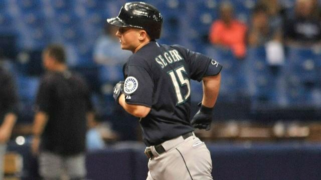 Kyle Seager crushed two home runs in the Mariners' 10-inning win over Tampa Bay. (Photo: Mariners)