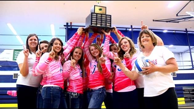 The Colfax girls volleyball team made the cut to be named the top high school female team.