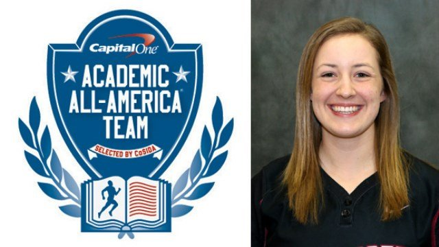Megan John was named an Academic All-American on Wednesday. (Photo: Whitworth)
