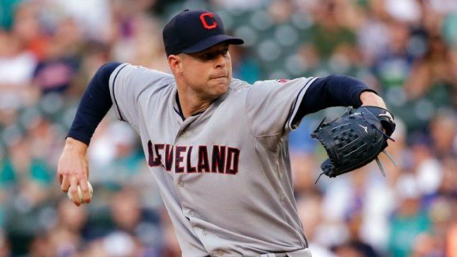 Corey Kluber struck out 13 over seven innings to top the Mariners on Thursday night. (Photo: AP)