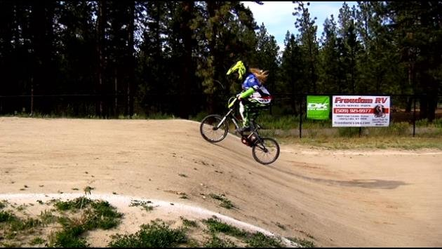 Lizzy Bowers of BMX Spokane is carrying on a family tradition and finding success doing it.