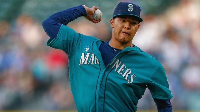 Taijuan Walker pitched the best game of his young career to beat Cleveland on Friday night. (Photo: Mariners)