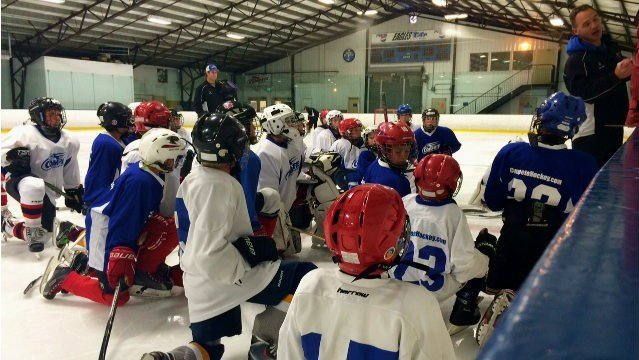 Local youth hockey players find dedication to their own game through inspiration from Spokane native Tyler Johnson.