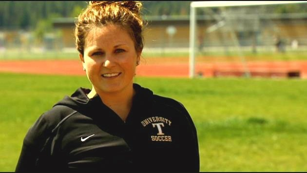 University's Megan Poulson is up for the Top Female Coach award.