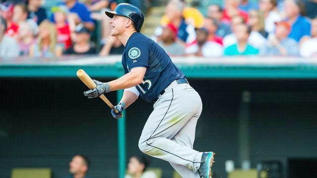 Kyle Seager's grand slam helped Seattle beat Cleveland 9-3 on Wednesday night. (Photo: Mariners)