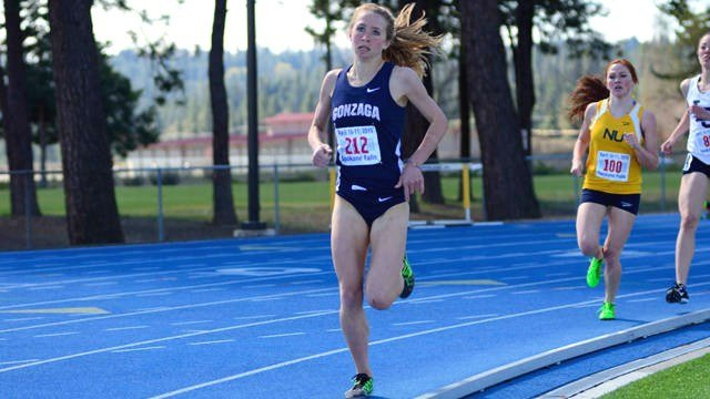 Shelby Mills was the first Zag to ever compete at the NCAA Outdoor Track and Field National Championships.