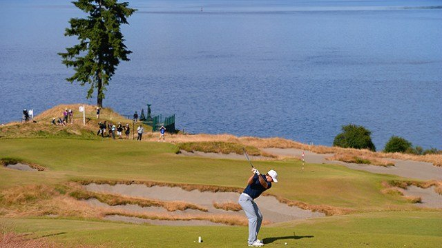 Jordan Spieth shot a 3-under 67 on day two to move into the top five at the 115th U.S. Open. (Photo: USOpen/Twitter)