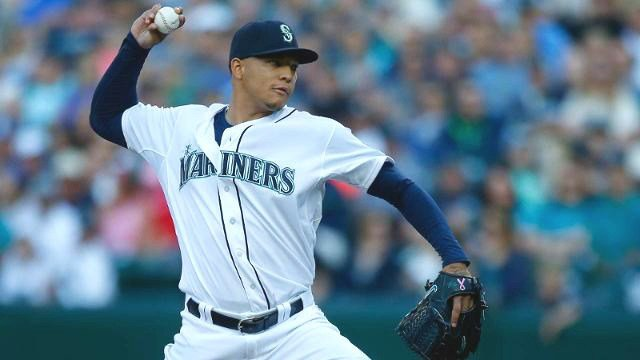 Taijuan Walker struck out a career-high 11 batters in the Mariners 6-3 win. (Photo: Mariners)