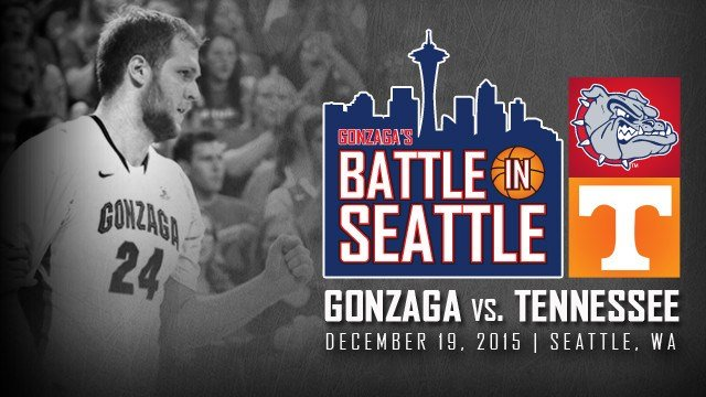 Goznaga will face Tennessee in late December for the Battle In Seattle 2015. (Photo: GU)