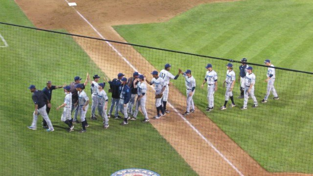 Everrett pulled off the ninth-inning rally to beat the Indians 4-3 on Tuesday night. (Photo: Sean Robb)