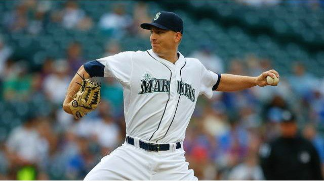 Mike Montgomery led Seattle to a 7-0 win over the Royals on Tuesday night. (Photo: Mariners)