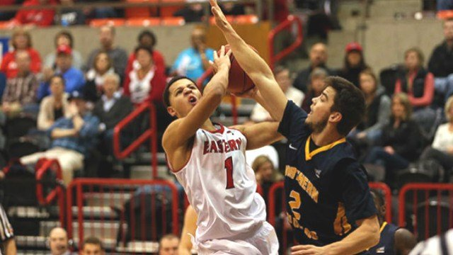 Former Eastern Washington shooting guard Tyler Harvey was selected in the second round of the NBA Draft on Thursday.