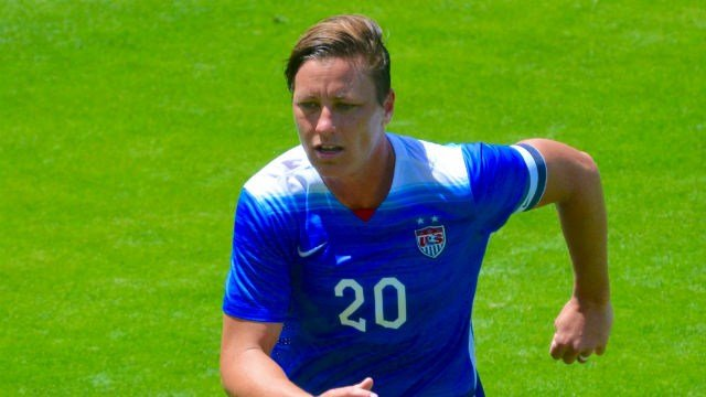 Abby Wambach will lead the USA women for the final time and hopes to win a World Cup and redemption. (Photo: Wiki)