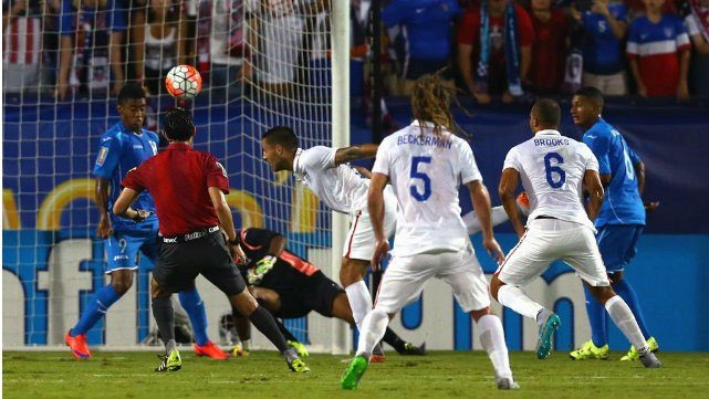 Clint Dempsey's brace proved to be enough for the USMNT to beat Honduras in their Gold Cup opener. (Photo: NBC Sports/Twitter)