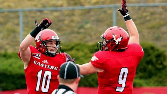 Cooper Kupp announced he will play his senior season at EWU. (Photo: EWU)