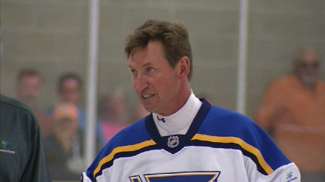 The Great One graced the ice at Hockey Fest Coeur d'Alene again on Friday.