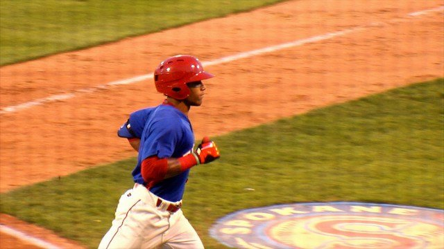 LeDarious Clark hit a solo shot and scored twice for the Indians on Thursday night.