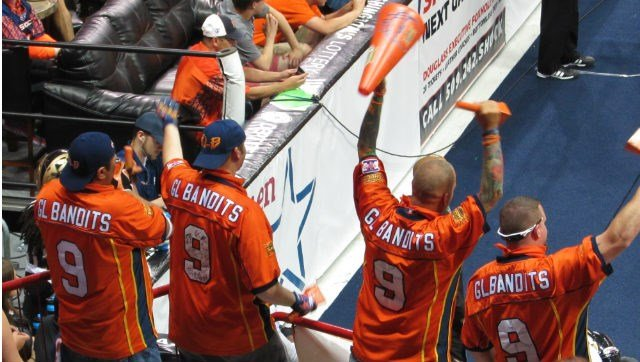 The Goal Line Bandits have been loud and proud at Shock games all season long despite everything.