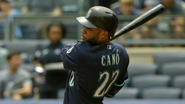 Robinson Cano homered twice to lead the Mariners past New York on Saturday. (Photo: Mariners)