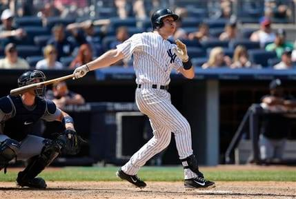 Yankees beat Mariners Sunday 2-1.