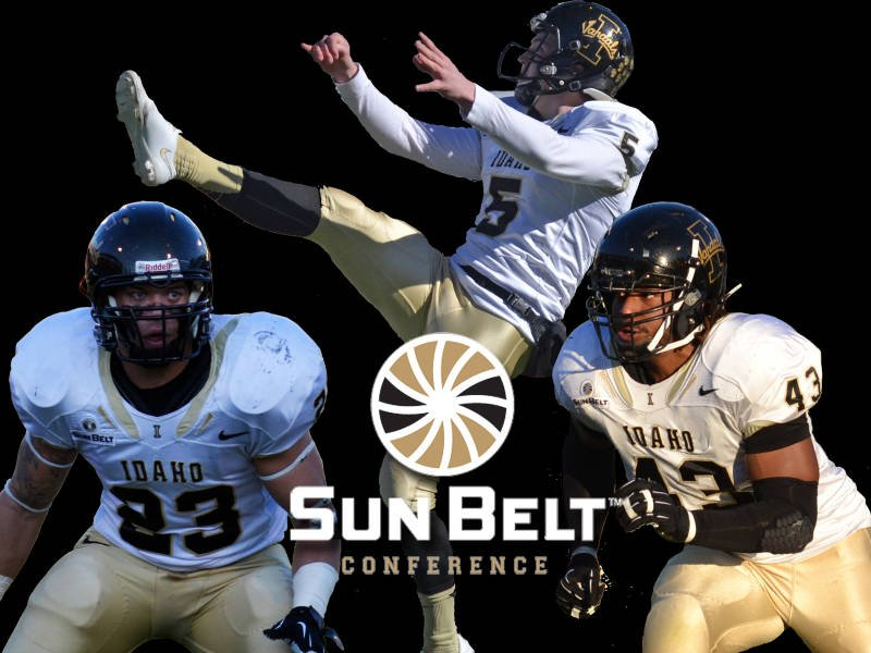 © University of Idaho junior punter Austin Rehkow is the first-time choice as the punter for the Sun Belt's preseason all-conference team.
