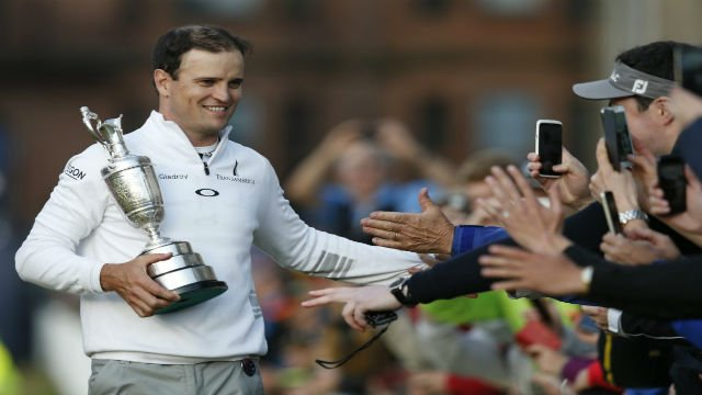 © Zach Johnson won the British Open in a playoff on Monday to claim his second major.