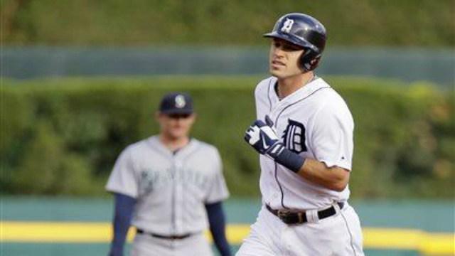 Former Spokane Indian Ian Kinsler hit two home runs in Detroits 5-4 win over Seattle.