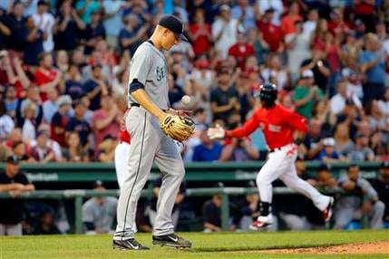 Red Sox crush the Mariners 15-1 on Friday.