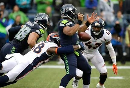 The Broncos beat the Seahawks 22-20 on Friday night.