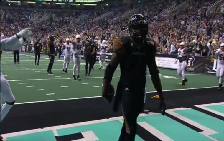 The Rattlers defeated the Shock 72-41 in the AFL Playoffs.