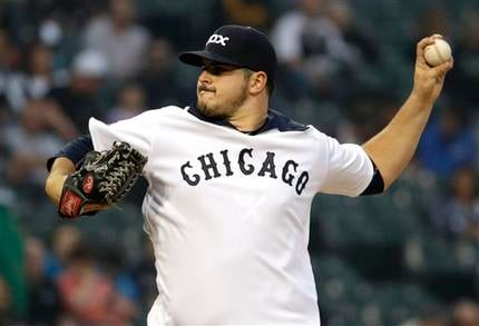 Carlos Rodon took a shutout into the seventh inning, Adam Eaton had three hits and scored three runs, and the Chicago White Sox beat the Seattle Mariners 4-2 on Thursday night.