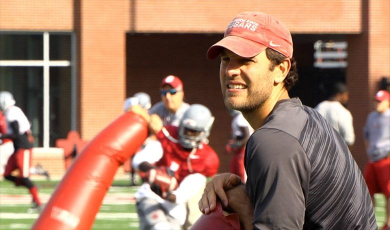 Graham Harrell is reunited with Mike Leach, as Harrell embarks on his first season as WSU's outside receivers coach.