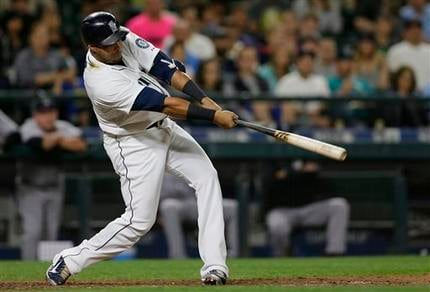 Nelson Cruz set a new career-high by hitting his 41st home run of the season.