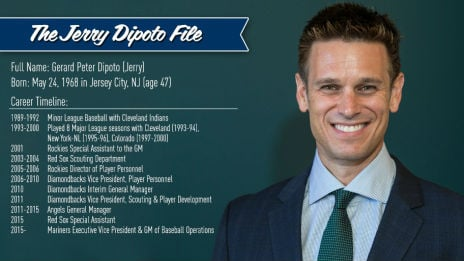 Jerry Dipoto is the Seattle Mariners new GM (PHOTO: Seattle Mariners)