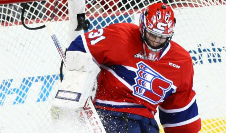 Goaltender Tyson Verhelst made 27 saves, but Spokane falls 4-0 in Lethbridge