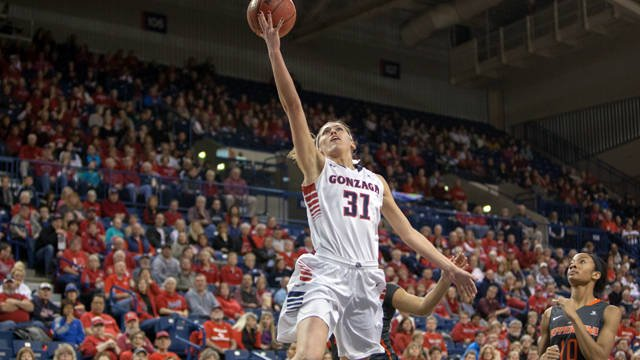 Elle Tinkle led Gonzaga with 11 points on 5-of-9 shooting in the win over the Bobcats.
