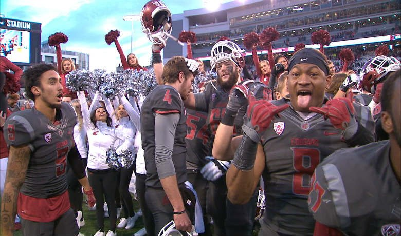 Washington State has six wins, but Head Coach Mike Leach says the Cougars have a lot to accomplish in their remaining three games.