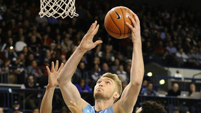 Domantas Sabonis led Gonzaga with 15 points and 13 rebounds Saturday night.