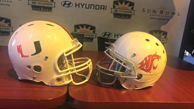 The Sun Bowl kicks off on December 26.