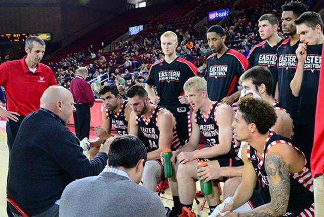 Von Hofe, Jois & McBroom combine for all but two of EWU points against Pioneers. (Photo: EWU Athletics)