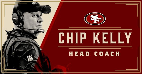 Former Oregon Ducks & Philadelphia Eagles Head Coach Chip Kelly is Heading to San Francisco. (Photo Courtesy: San Francisco 49ers)
