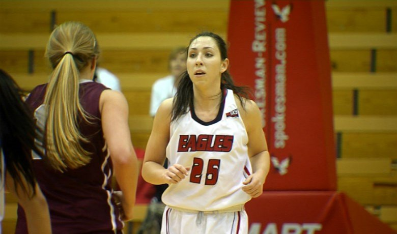 Hayley Hodgins led Eastern in scoring with 27 points in the loss.