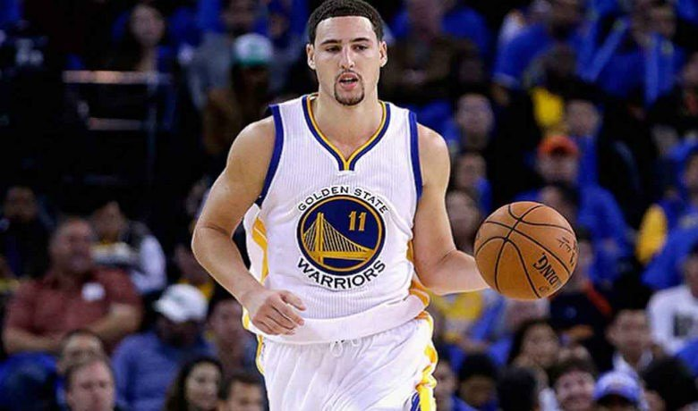 Klay Thompson had his second 40-point game of the season and sixth of his career, shooting 14 of 20, 7 for 12 on 3-pointers and making all 10 of his free throws.