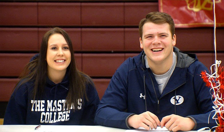 University High School saw 11 student-athletes sign Letters of Intent including Brooke Bailey and Clark Barrington.