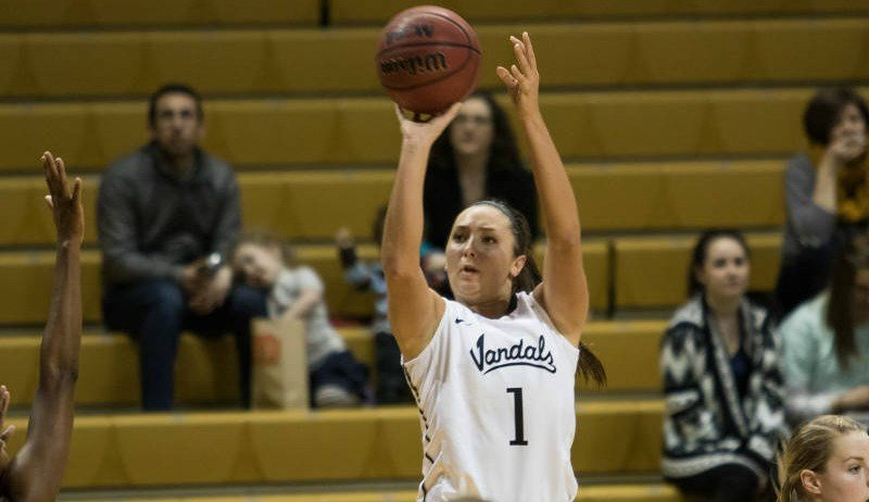 Senior Christina Salvatore posted a game-high 20 points, shooting 50 percent (8-of-16) from the field.