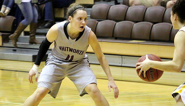 KC McConnell led four Whitworth players in double figures with 17 points and she added seven rebounds and five assists.