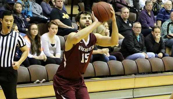Christian Jurlina led four Pirates in double figures with 18 points.