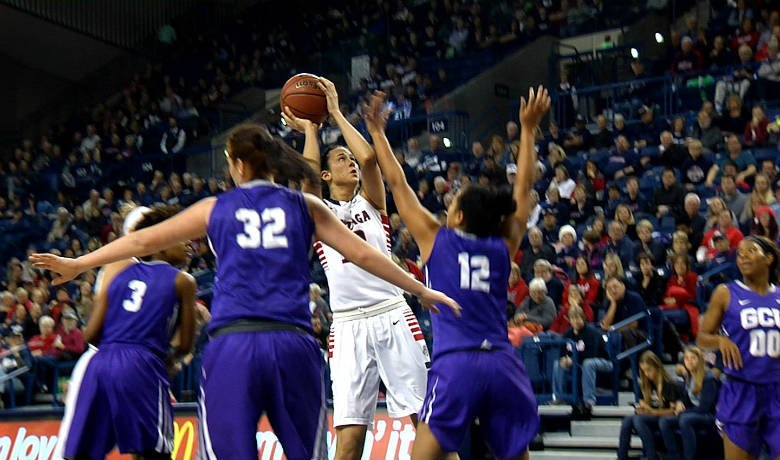Jill Barta scored a career-high 31 points and pulled down 10 rebounds.