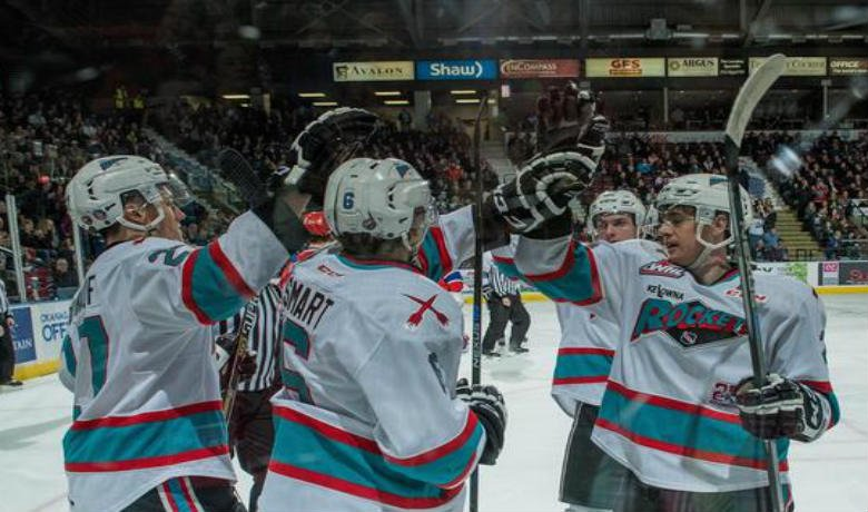 Tomas Soustal and Justin Kirkland each scored in the shootout as Kelowna improved to 44-16-3-0 on the season to remain in first place overall in the WHL.
